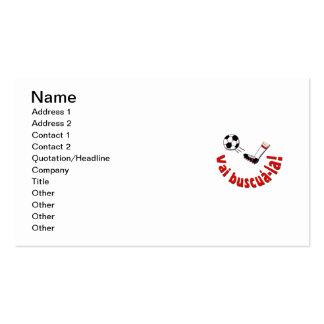 """Vai Buscuá-la"" Pack Of Standard Business Cards"
