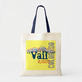 Vail Colorado elevation reusable bag