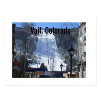 Vail, Colorado Postcard