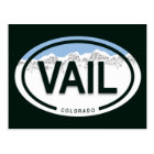 Vail Colorado Rocky Mountain Postcard