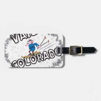 Vail Colorado - with Clive Luggage Tag