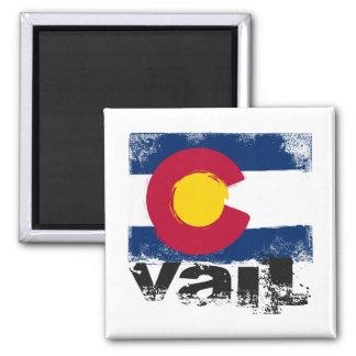 Vail Grunge Flag Magnet