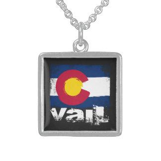 Vail Grunge Flag Jewelry