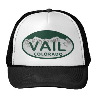 Vail license oval cap