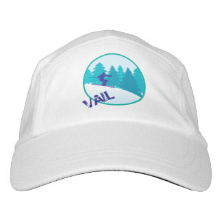 Vail Teal Ski Personalized Hat