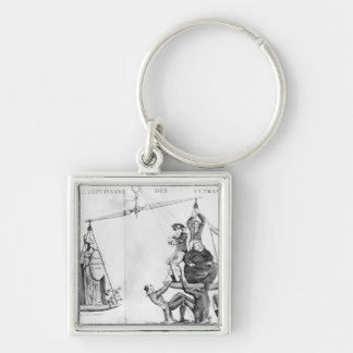 Vain efforts of the Ultras, 1819 Key Ring