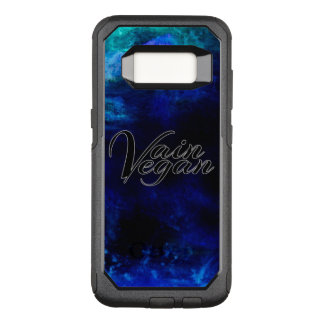 Vain Vegan Phone Case (black/blue)