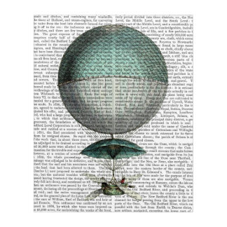 Vaisseau Volant Hot Air Balloon Acrylic Wall Art