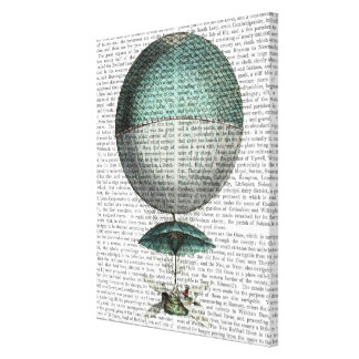 Vaisseau Volant Hot Air Balloon Canvas Print