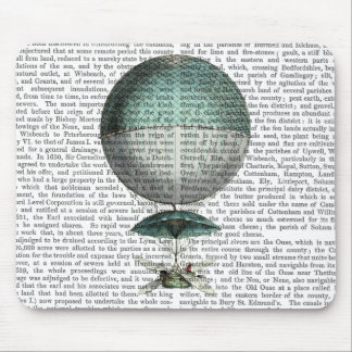 Vaisseau Volant Hot Air Balloon Mouse Pad