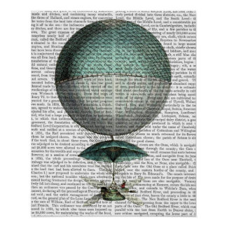 Vaisseau Volant Hot Air Balloon Poster