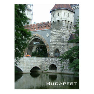Vajdahunyad Castle - Budapest Postcard