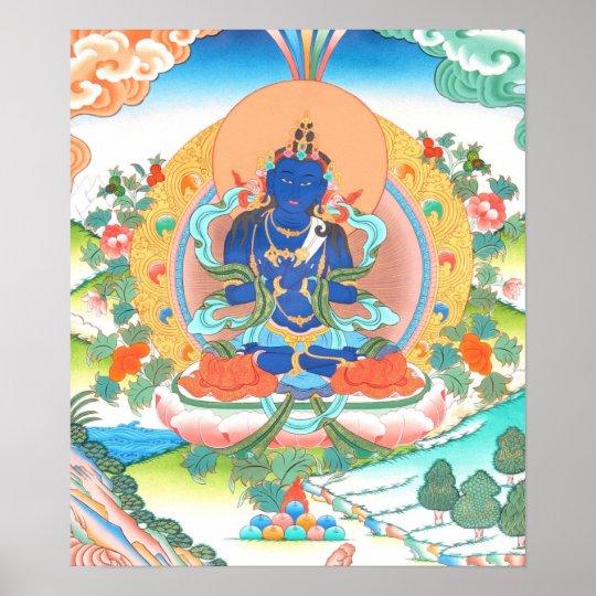 Vajradhara Buddha Poster