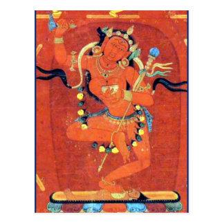 Vajravarahi Vajrayogini Tibetan Buddhist Deity Postcard