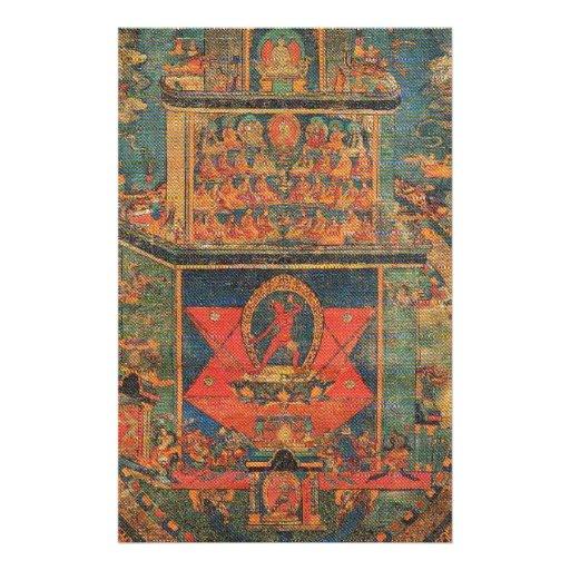 Vajrayogini_Mandala EXOTIC TIBETAN DESIGN Stationery
