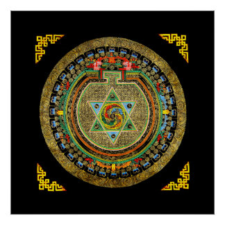 Vajrayogini Mandala Poster