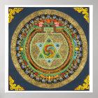 Vajrayogini Mantra Mandala Poster