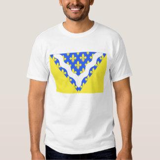 Val-de-Marne flag T Shirts