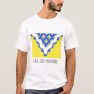 Val-de-Marne flag with name T-Shirt