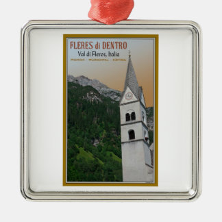 Val di Fleres - Church in the Alps Christmas Tree Ornaments