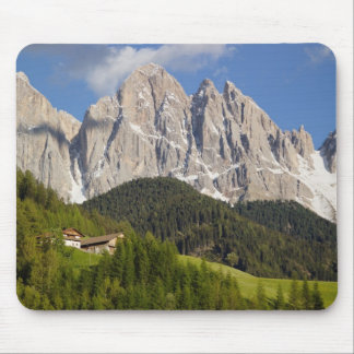 Val di Funes, Villnosstal, Dolomites, Italy Mouse Pad
