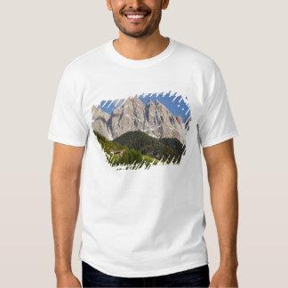 Val di Funes, Villnosstal, Dolomites, Italy T Shirt