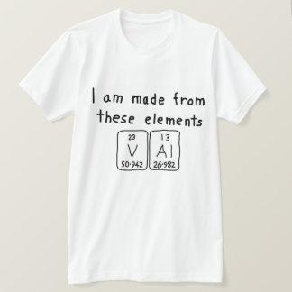 Val periodic table name shirt