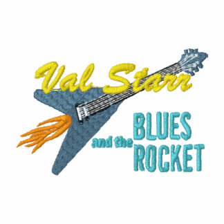 Val Starr the Blues Rocket small logo