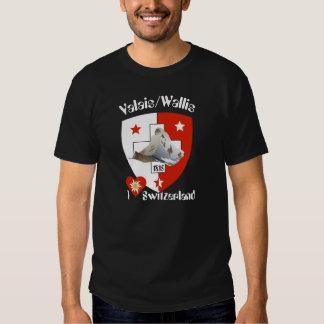 Valais/Valais Switzerland Suisse T-shirt