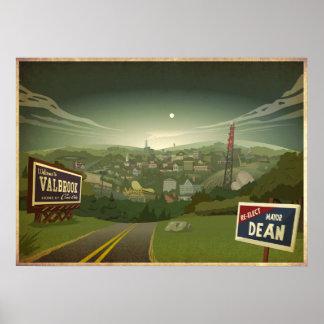 Valbrook Town Poster