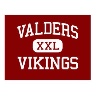 Valders - Vikings - High - Valders Wisconsin Postcard
