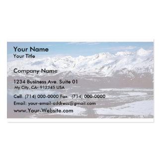 Valdez, Alaska Pack Of Standard Business Cards