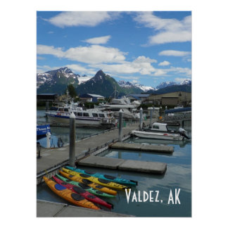 Valdez, Alaska Poster