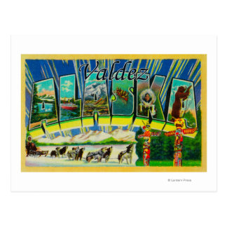 Valdez, AlaskaLarge Letter ScenesValdez, AK Postcards