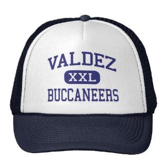 Valdez - Buccaneers - High School - Valdez Alaska Mesh Hats