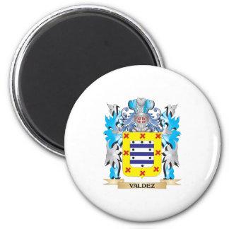 Valdez Coat of Arms - Family Crest Magnets