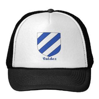 Valdez Family Heraldic Shield Cap