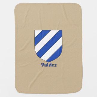 Valdez Heraldic Shield Buggy Blanket