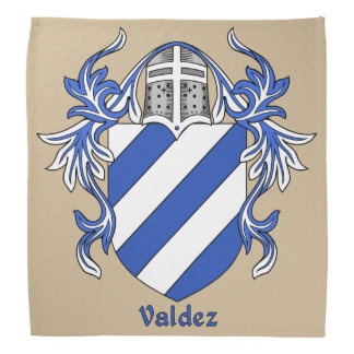 Valdez Historical Coat of Arms Kerchief