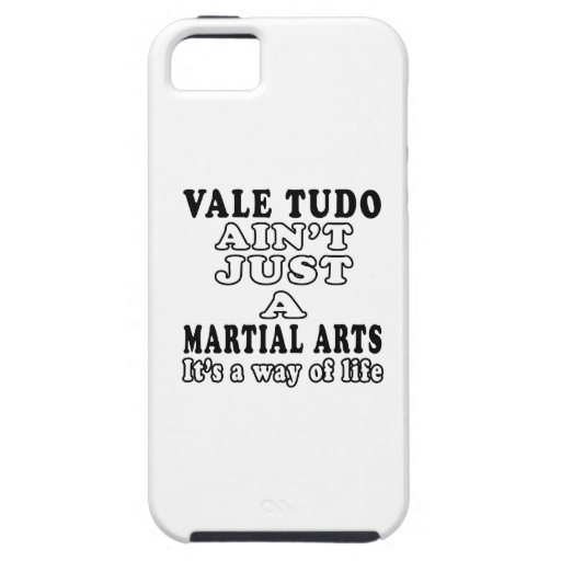 Vale Tudo Ain't Just A Game It's A Way Of Life iPhone 5 Cover