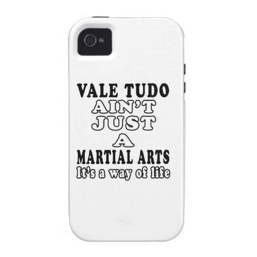 Vale Tudo Ain't Just A Martial Arts It's Vibe iPhone 4 Cover