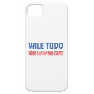 Vale Tudo Begins and End with Respect Barely There iPhone 5 Case