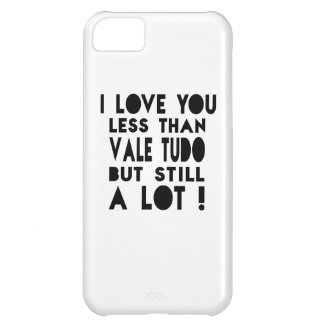 Vale Tudo Designs Cover For iPhone 5C