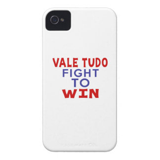 VALE TUDO FIGHT TO WIN iPhone 4 Case-Mate CASE