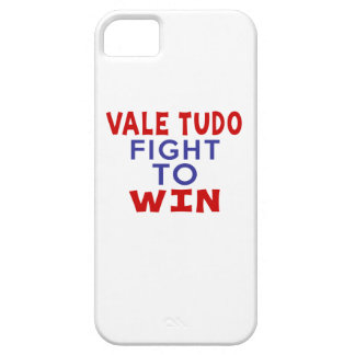 VALE TUDO FIGHT TO WIN iPhone 5 COVER