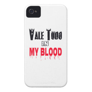 Vale Tudo In My Blood iPhone 4 Covers