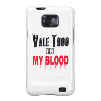 Vale Tudo In My Blood Galaxy S2 Case