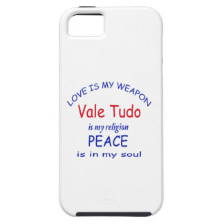 Vale Tudo is my religion Tough iPhone 5 Case