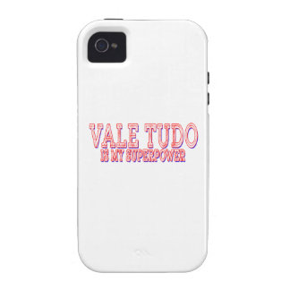 Vale Tudo is my superpower iPhone 4 Case