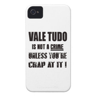 Vale Tudo is not a crime iPhone 4 Case-Mate Cases
